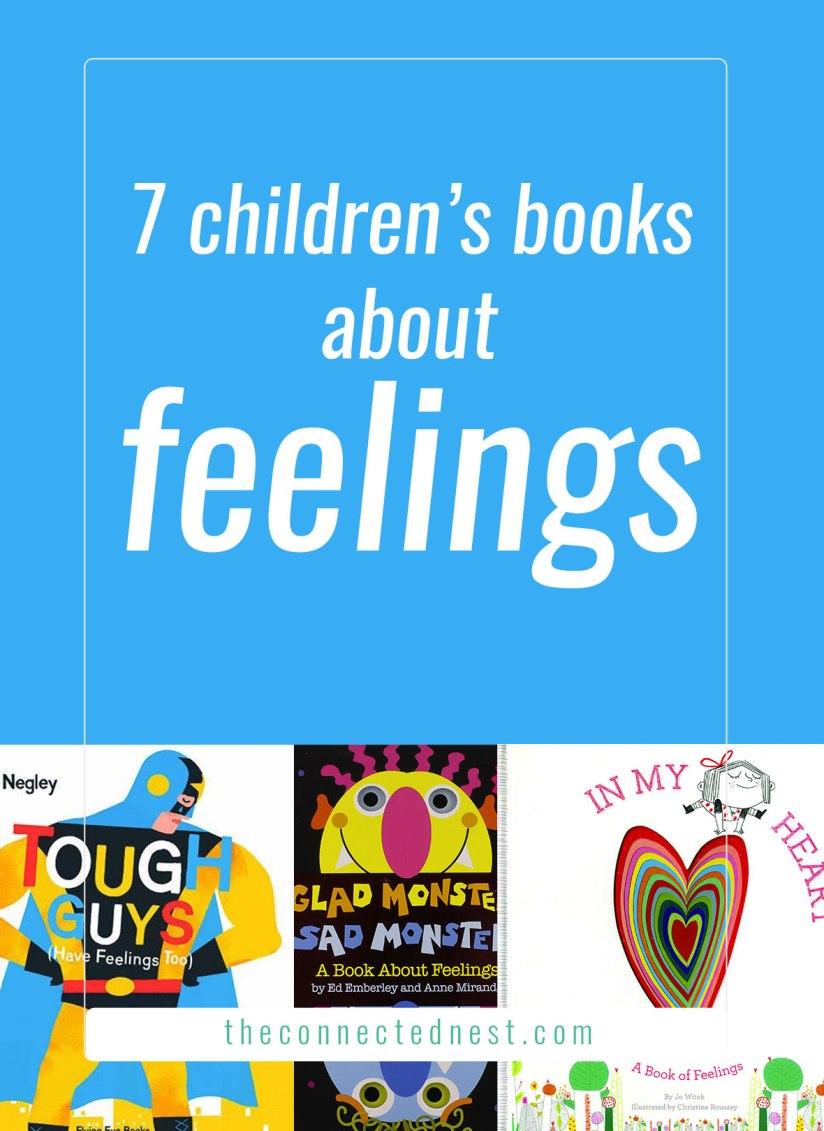 7 children's books about feelings